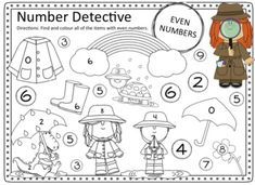 Odd and Even Number worksheets page pack. 100 Number Chart, Number Worksheets, Cut And Paste, Teacher Pay Teachers, Teacher Newsletter, Maths, Sunsets, Numbers, Numeracy