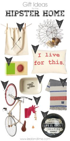 Gift Ideas for the Hipster Home