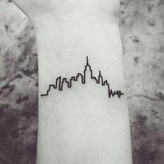 Love City Minimal Tat - http://www.tattooideas1.org/placement/wrist/love-city-minimal-tat/