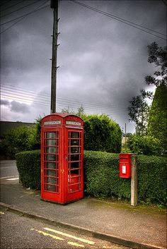 Classic Phone Box, Ballyskeagh, Northern Ireland