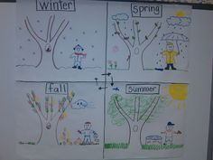 Seasons - Project GLAD - pictorial input chart