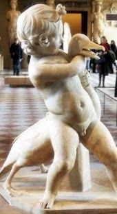 Sculpture from the Louvre. One of my favorite sculptures. However I have about 100 favorites.
