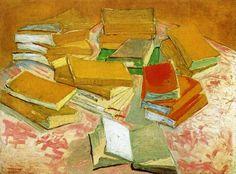 Still Life: French Novels by Vincent van Gogh, 1888.
