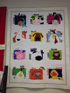 Amy Bradley Designs: Animal Whimsy  with animal sounds added - cuuute!