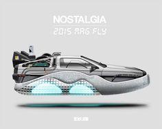 Esta serie conjunta el diseño de automóviles y calzado deportivo