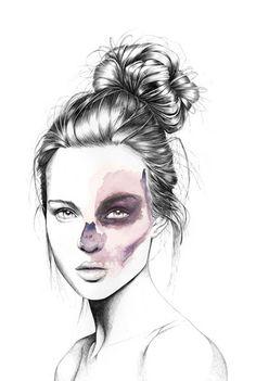 Fashion Illustration- FLORIAN MEACCI