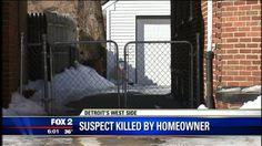 Homeowner shoots and kills armed robbery suspect - Fox 2 News Headlines