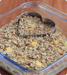 Try this for Sunday brunch: Apple Pie Baked Oatmeal from Chocolate Covered Katie