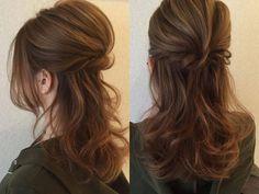 Hair wedding ponytail hairdos for 2019 Up Hairstyles, Wedding Hairstyles, Wedding Ponytail, Ulzzang Hair, Hair Arrange, Hair Setting, Love Hair, Fall Hair, Hair Dos