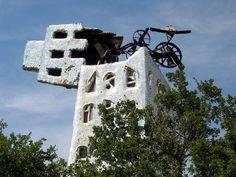 Der Turm von Nicki StPalle, Giardino dei Tarocchi