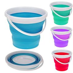 Collapsible cleaning bucket silicone beer #cooler camping #folding #washing up bo,  View more on the LINK: http://www.zeppy.io/product/gb/2/381537054732/