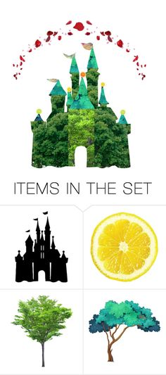 """""""Disney Goes Green"""" by one-little-spark ❤ liked on Polyvore featuring art, disney and artset"""