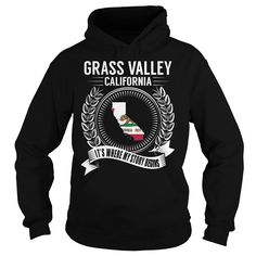 Grass Valley, California It's Where My Story Begins T-Shirts, Hoodies. Get It Now ==► https://www.sunfrog.com/States/Grass-Valley-California--Its-Where-My-Story-Begins-Black-Hoodie.html?id=41382