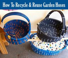 Place your ad here Loading... Most garden hoses are made of variety of materials that can't be recycled when they become worn out. Often these broken hoses are discarded and hauled off the the landfill. Over at Green Eco Services, we found 9 creative ways to recycle those old hoses. Two of our favorite ideas …