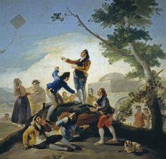 La cometa, de Francisco de Goya.