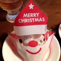 Merry Christmas cream puff.