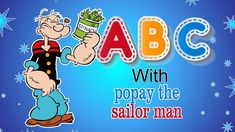 ABCD with Popeye the Sailor Nursery Rhymes for babies Alphabet Song Learn ABC Alphabet Song For Kids, Alphabet Songs, Sailor Nursery, Rhymes For Babies, Phonics Song, Kids Songs, Nursery Rhymes, Toddlers, Learning