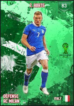 #Abate Italy FIFA World Cup 2014 Lineup