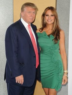 Melania Trump (42) and Donald Trump (66) | Hollywood's May-December Couples | Comcast.net