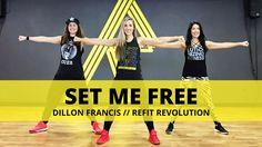 """Set Me Free""|| DILLON FRANCIS || TONING HIIT WORKOUT || REFIT® Revolution"