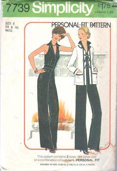 Image result for 1976 jumpsuit pattern
