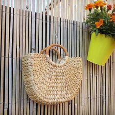 Women wicker handbag Tote bag Beach bag Straw Woven Summer | Etsy