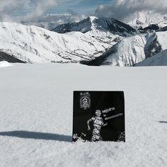 «Même aux Sybelles, la Boostbastille est la! #boostbastille #sybelles #boostbattlerun #adidasfr #montagne #ski»