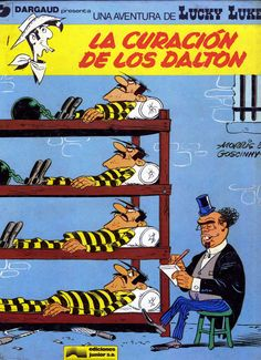 Libro Comic Lucky Luke, nº 05. La curación de los Dalton