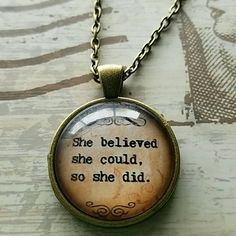 """Inspirational Necklace New inspirational necklace. Chain is 18"""" Bundle and save Jewelry Necklaces"""