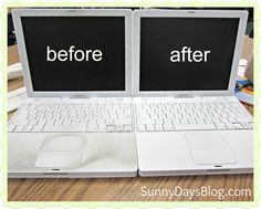 Sunny Days in Second Grade: Computer Clean-up