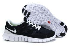 Wholesale Mens Nike Free Runs 2 Black White Running Shoes for cheap, sale  Nike Free new Nike Free Shoes,elite Nike Free Shoes ,Nike Free Shoes for ...