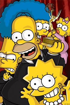 """Congrats to the Simpsons at the 2013 Teen Choice Awards for winning:    CHOICE TV, ANIMATED    """"The Simpsons"""""""