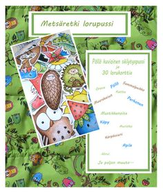 Lorupussi (Opettajan tietopalvelusta) Early Education, Early Childhood Education, Working With Children, Walking In Nature, Geography, Literature, Things To Do, Crafts For Kids, Environment