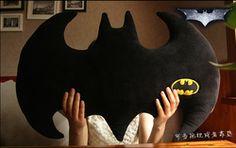 Online Shop Lastest Design Black Coral Velvet Batman Logo Pillow Cartoon Movie Character Black Personality Cushion Free Shipping|Aliexpress Mobile