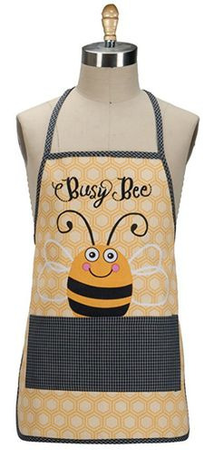 Busy bee apron . Cute bee design apron for budding chefs #ad #bee #bees #apron