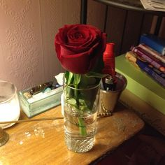 Rose from my love