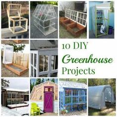 10 DIY Greenhouse Projects