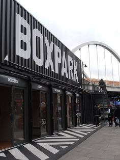 BOXPARK Shoreditch - Picture gallery