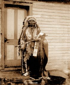 Big Tobacco, a Dance Hall Chief, circa 1900. The U.S. Government allowed Native Americans to build halls to host tribal dances. When tribal members wanted to hold a dance, the Dance Hall Chief would seek permission from Federal agents. Dance Hall Chiefs would beat on a drum to communicate to tribal members the time of the dance. The city of Yankton, S.D., featured seven dance halls from the 1890s to 1934. Dance Halls served to preserve Native American cultural traditions.