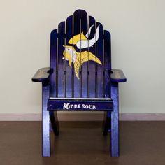 Chair # 32  Skol Vikings! - Connor's favorite chair!