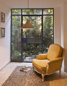 A Lovely Seating Area Apartment Renovation, Cozy Corner, Windows And Doors, Outdoor Living, Home Goods, House Plans, Sweet Home, Design Inspiration, House Design