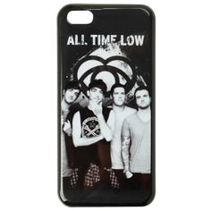 All Time Low Photo iPhone 5C Case | Hot Topic ($10) ❤ liked on Polyvore featuring accessories, tech accessories, phone cases, all time low, phone and bands