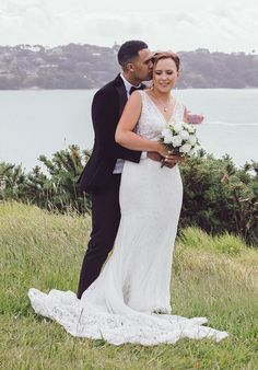 Zoe and Jordan Turu celebrated their wedding at the Howick boat club November 2019 Thank you fro sharing your beautiful photos taken by Kiri Marsters photography. Zoe is wearing Bridal and Ball style 70545 Turu, Affordable Wedding Dresses, November 2019, Vintage Bohemian, Wedding Designs, Wedding Gowns, Evening Dresses, Boat, Bridesmaid