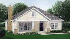 Quaint Home Plan - 1941GT | Cottage, Craftsman, Narrow Lot, 1st Floor Master Suite, PDF, Wrap Around Porch | Architectural Designs