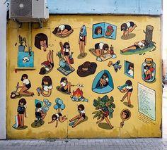 Marija Tiurina in London, 2020 Street Art London, It Works, Warm, Photo And Video, Creative, Color, Instagram, Lithuania, Videos