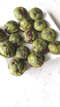 "Green Protein ""Monster"" Muffins"