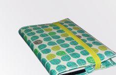 Adressbücher - AdressBuch (10,3x7) m. Stoffumschlag - ein Designerstück von steffee bei DaWanda