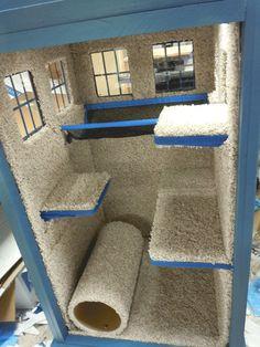 cedar cat house plans