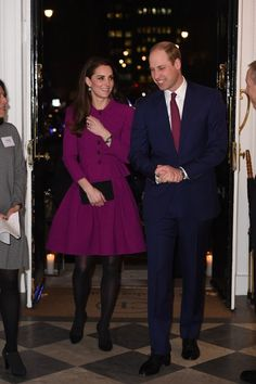 Catherine, Duchess of Cambridge and Prince William, Duke of Cambridge attend Guild of Health Writers Conference with Heads Together at Chandos House on February 6, 2017 in London.