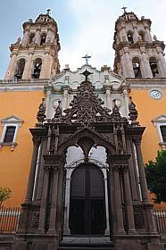 Santuario de la Virgen de la Soledad in Jerez, Zacatecas.  My  first Sunday church.